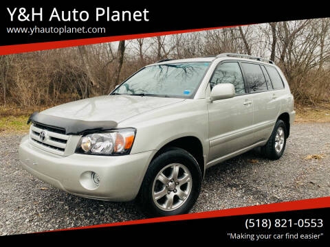 2006 Toyota Highlander for sale at Y&H Auto Planet in West Sand Lake NY