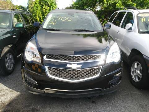 2010 Chevrolet Equinox for sale at Dulux Auto Sales Inc & Car Rental in Hollywood FL