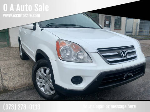 2006 Honda CR-V for sale at O A Auto Sale in Paterson NJ
