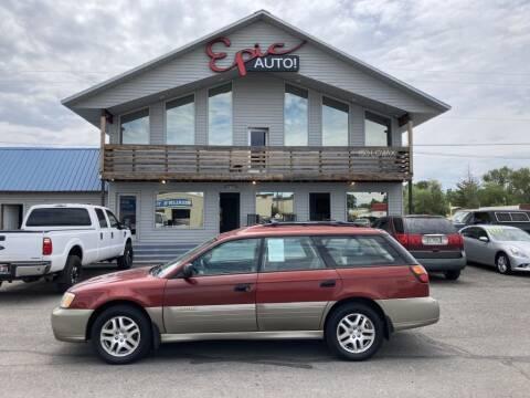 2004 Subaru Outback for sale at Epic Auto in Idaho Falls ID