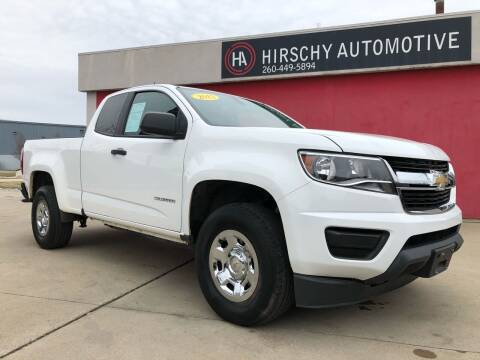 2015 Chevrolet Colorado for sale at Hirschy Automotive in Fort Wayne IN
