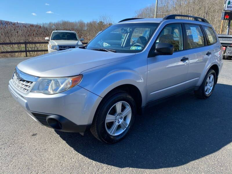 2013 Subaru Forester for sale at Pine Grove Auto Sales LLC in Russell PA