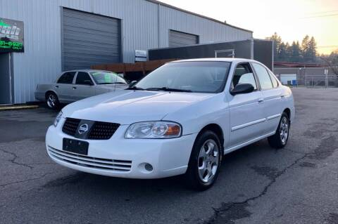 2005 Nissan Sentra for sale at DASH AUTO SALES LLC in Salem OR