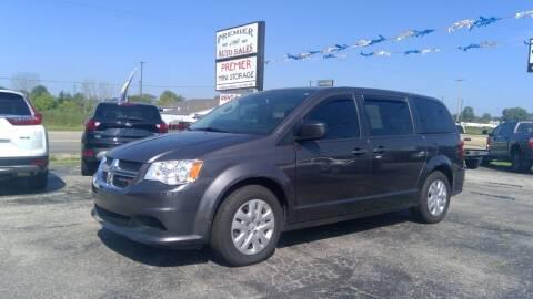 2019 Dodge Grand Caravan for sale at Premier Auto Sales Inc. in Big Rapids MI