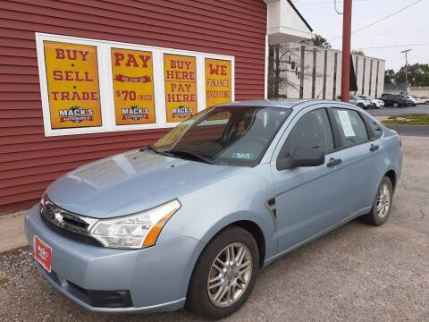 2008 Ford Focus for sale at Mack's Autoworld in Toledo OH