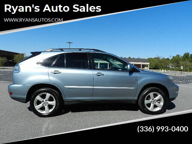 2004 Lexus RX 330 for sale at Ryan's Auto Sales in Kernersville NC