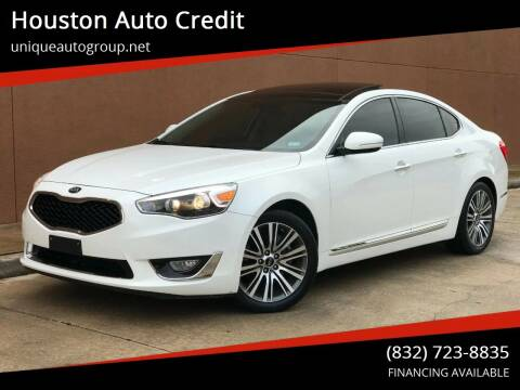 2016 Kia Cadenza for sale at Houston Auto Credit in Houston TX