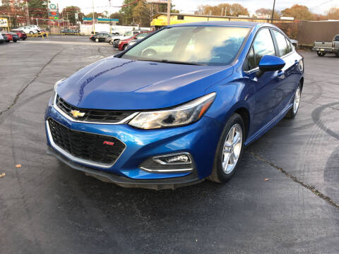 2016 Chevrolet Cruze for sale at IMPALA MOTORS in Memphis TN