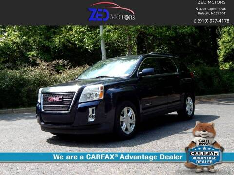 2015 GMC Terrain for sale at Zed Motors in Raleigh NC