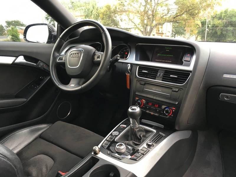 2010 Audi A5 AWD 2.0T quattro Prestige 2dr Coupe 6M - Davie FL