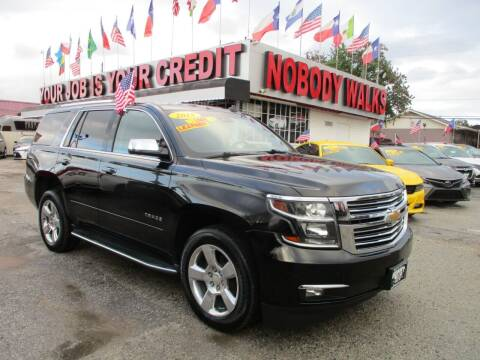 2015 Chevrolet Tahoe for sale at Giant Auto Mart 2 in Houston TX
