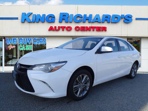 2016 Toyota Camry for sale at KING RICHARDS AUTO CENTER in East Providence RI