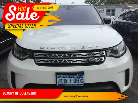 2017 Land Rover Discovery for sale at LUXURY OF QUEENS,INC in Long Island City NY