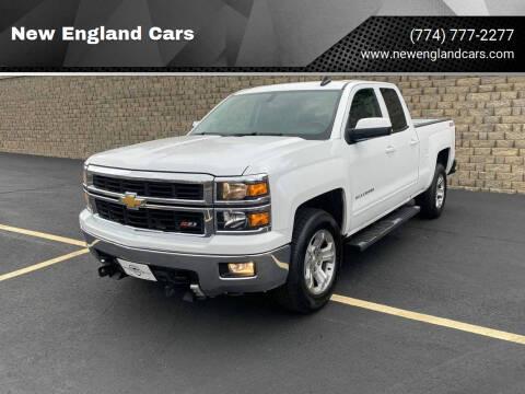 2015 Chevrolet Silverado 1500 for sale at New England Cars in Attleboro MA