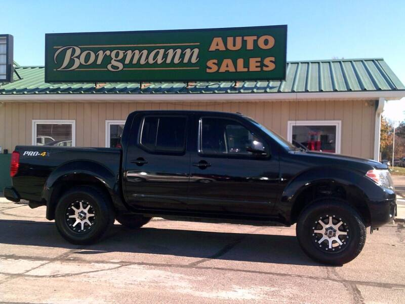 2016 Nissan Frontier for sale at Borgmann Auto Sales in Norfolk NE