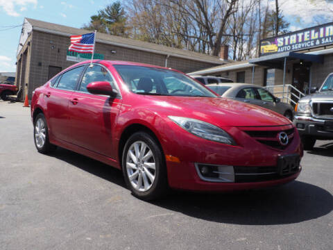 2012 Mazda MAZDA6 for sale at East Providence Auto Sales in East Providence RI