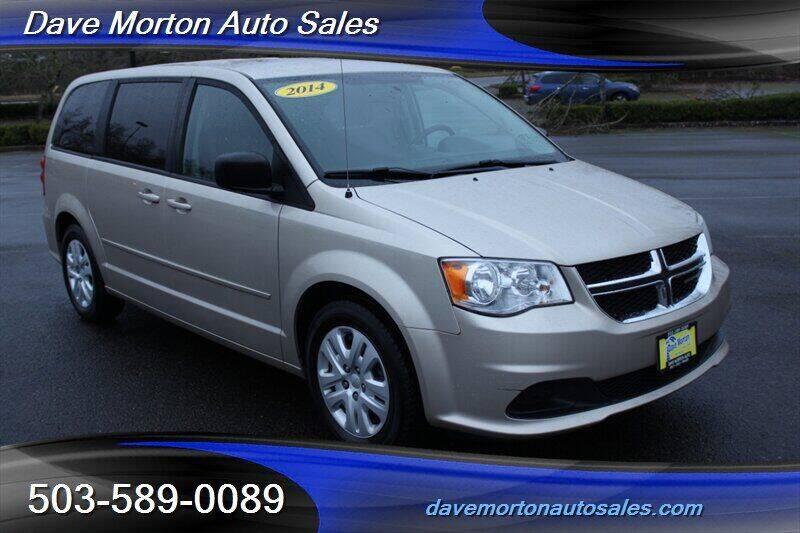 2014 Dodge Grand Caravan for sale at Dave Morton Auto Sales in Salem OR