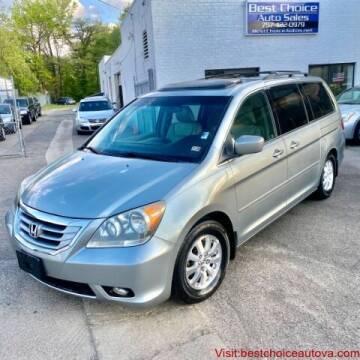 2008 Honda Odyssey for sale at Best Choice Auto Sales in Virginia Beach VA