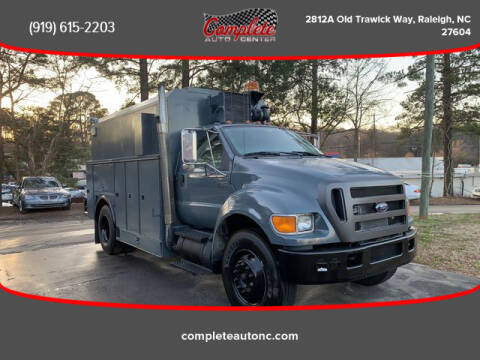 2007 Ford F-750 Super Duty for sale at Complete Auto Center , Inc in Raleigh NC