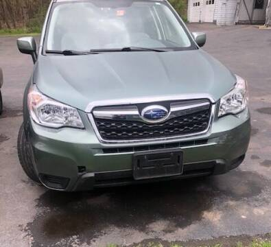2015 Subaru Forester for sale at GDT AUTOMOTIVE LLC in Hopewell NY