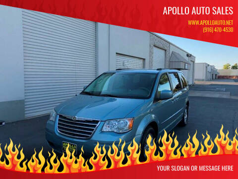 2010 Chrysler Town and Country for sale at APOLLO AUTO SALES in Sacramento CA