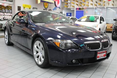 2007 BMW 6 Series for sale at Windy City Motors in Chicago IL