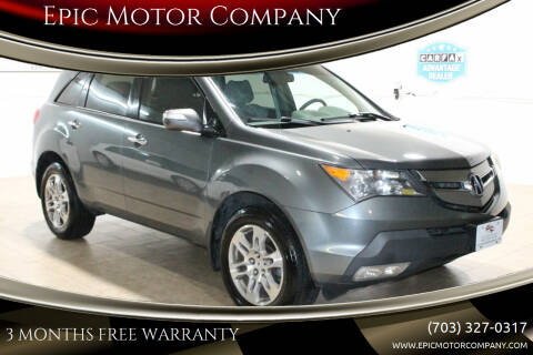 2009 Acura MDX for sale at Epic Motor Company in Chantilly VA