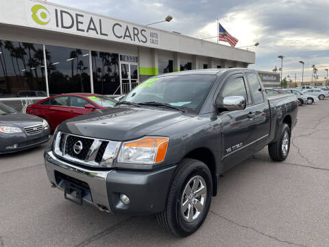2011 Nissan Titan for sale at Ideal Cars Broadway in Mesa AZ