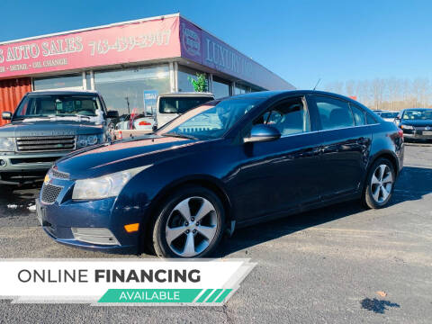 2011 Chevrolet Cruze for sale at LUXURY IMPORTS AUTO SALES INC in North Branch MN