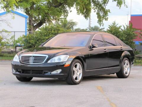 2008 Mercedes-Benz S-Class for sale at DK Auto Sales in Hollywood FL
