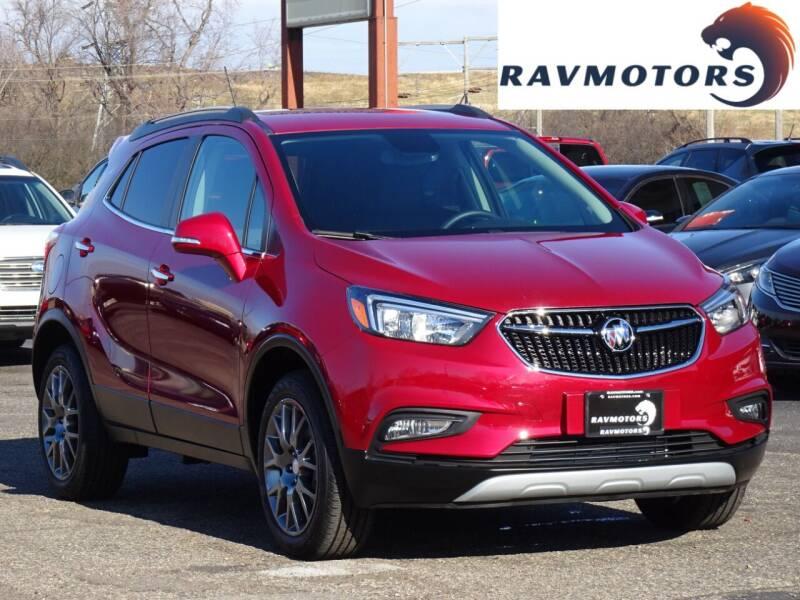2019 Buick Encore for sale at RAVMOTORS in Burnsville MN