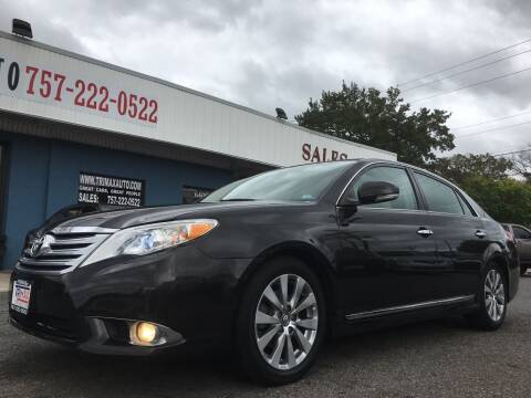 2011 Toyota Avalon for sale at Trimax Auto Group in Norfolk VA
