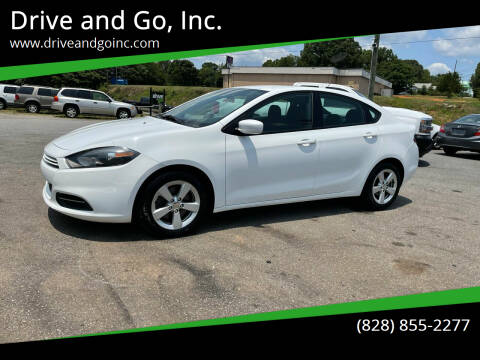 2015 Dodge Dart for sale at Drive and Go, Inc. in Hickory NC