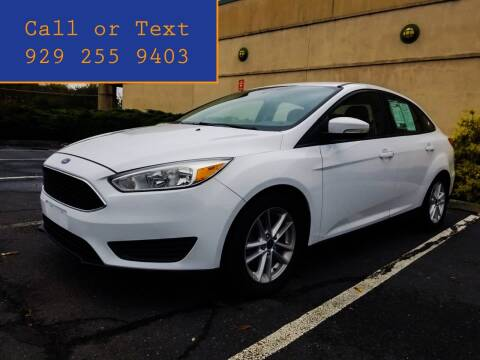 2015 Ford Focus for sale at Ultimate Motors in Port Monmouth NJ