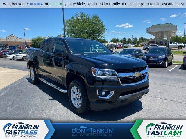 2018 Chevrolet Colorado for sale in Columbia, KY