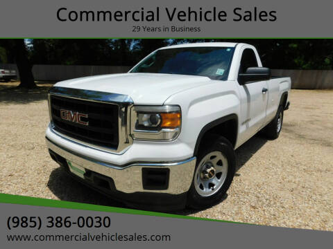 2014 GMC Sierra 1500 for sale at Commercial Vehicle Sales in Ponchatoula LA