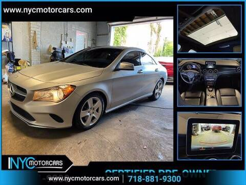 2017 Mercedes-Benz CLA for sale at NYC Motorcars in Freeport NY