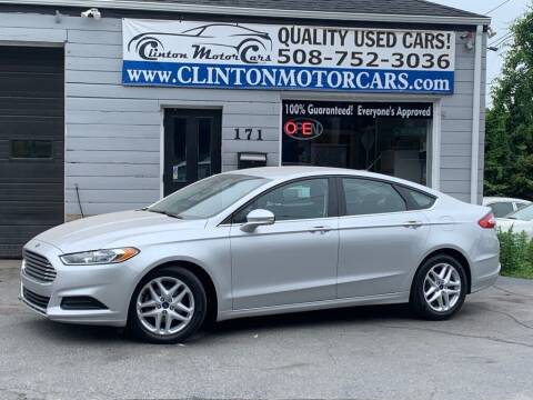 2016 Ford Fusion for sale at Clinton MotorCars in Shrewsbury MA