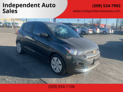 2017 Chevrolet Spark for sale at Independent Auto Sales #2 in Spokane WA