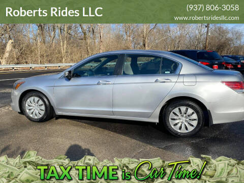 2008 Honda Accord for sale at Roberts Rides LLC in Franklin OH