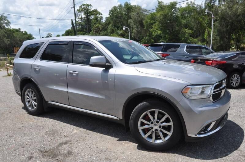 2017 Dodge Durango for sale at Elite Motorcar, LLC in Deland FL
