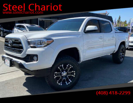 2016 Toyota Tacoma for sale at Steel Chariot in San Jose CA