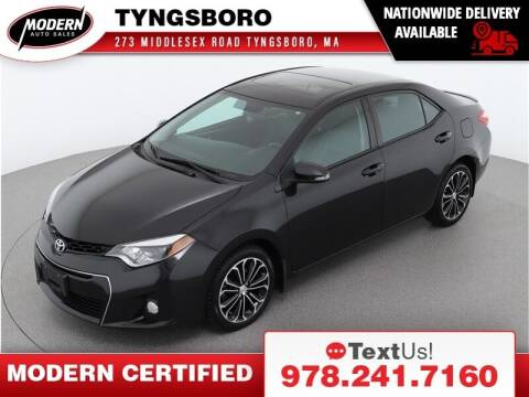 2015 Toyota Corolla for sale at Modern Auto Sales in Tyngsboro MA