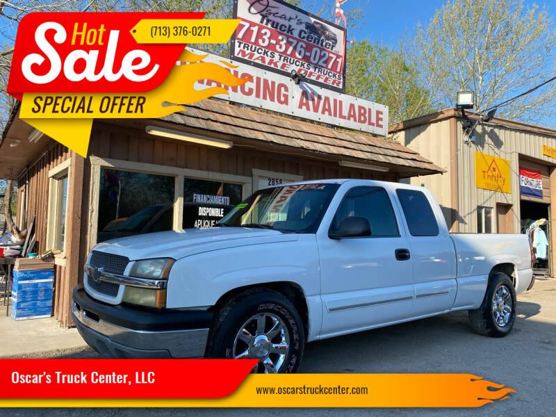 2003 Chevrolet Silverado 1500 for sale at Oscar's Truck Center, LLC in Houston TX