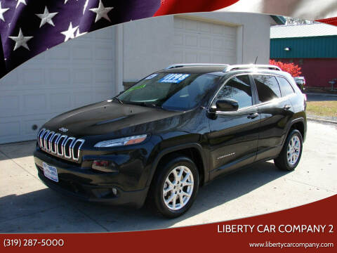 2014 Jeep Cherokee for sale at Liberty Car Company - II in Waterloo IA