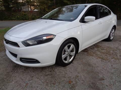 2015 Dodge Dart for sale at Liberty Motors in Chesapeake VA