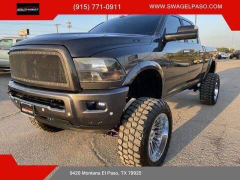 2017 RAM Ram Pickup 2500 for sale at SOUTHWEST AUTO GROUP-EL PASO in El Paso TX