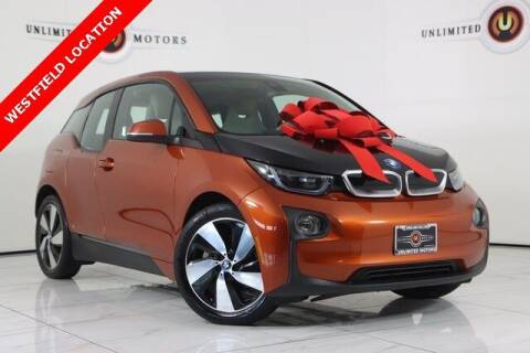 2014 BMW i3 for sale at INDY'S UNLIMITED MOTORS - UNLIMITED MOTORS in Westfield IN