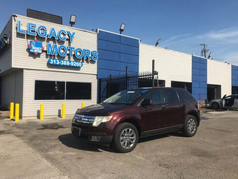 2009 Ford Edge for sale at Legacy Motors in Detroit MI