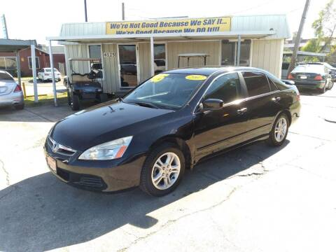 2007 Honda Accord for sale at Taylor Trading Co in Beaumont TX